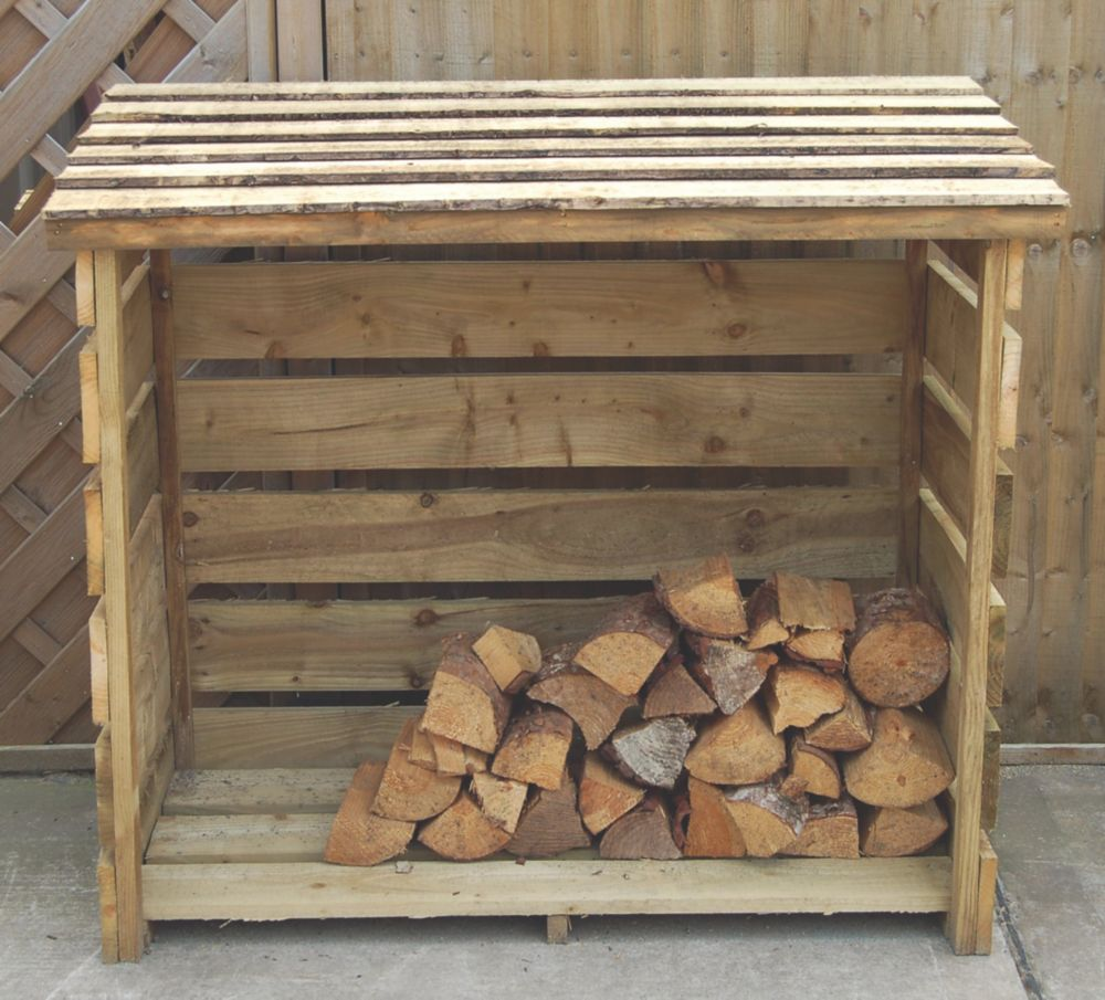 Forest Log Store 1.2 x 0.9 x 1.3m