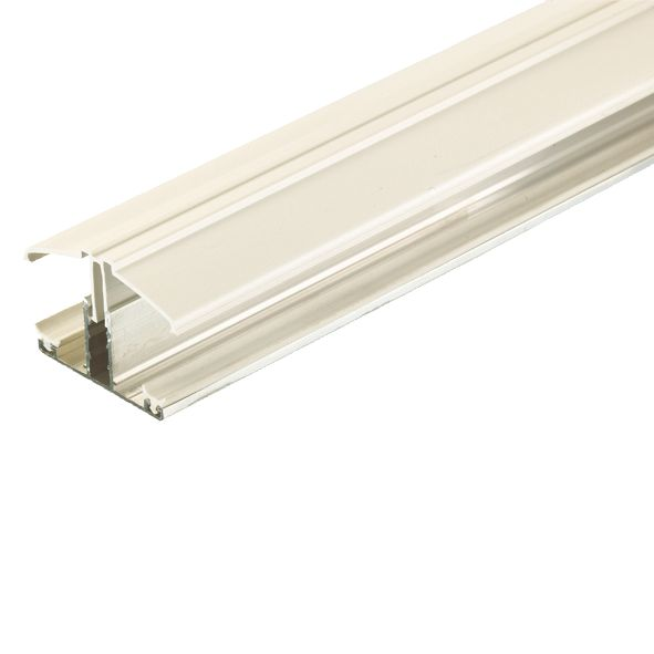 Corotherm Glazing Bar White 3m