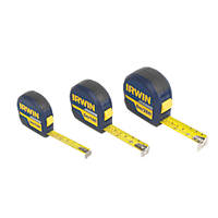 Irwin Tape Measures Triple Pack