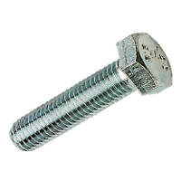 Easyfix Bright Zinc-Plated Set Screws M12 x 40mm 100 Pack