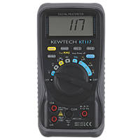Kewtech KT117 True RMS Digital Multimeter 600V