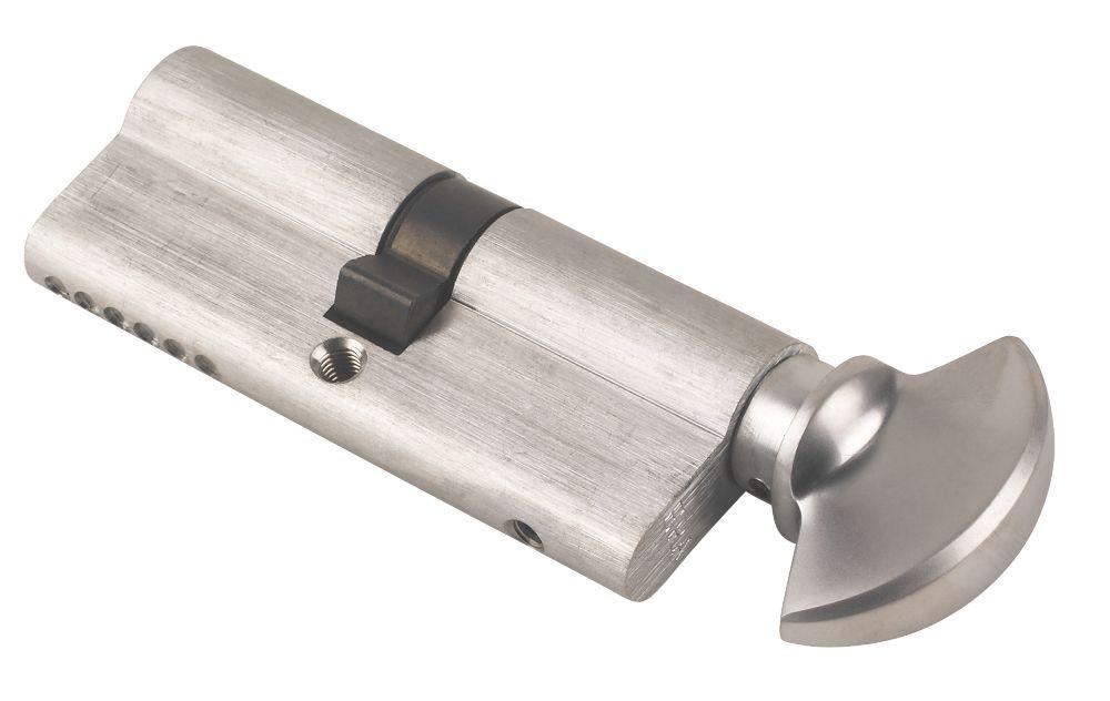 Era 6 pin Euro Cylinder Thumbturn Lock 40-40 (80mm) Satin