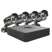 Swann SWDVK-815254-UK 8-Channel CCTV DVR Kit & 4 Cameras