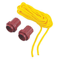 What Knot Replacement Tools & 7m Yellow Rope 70mm x 60mm 3 Piece Set