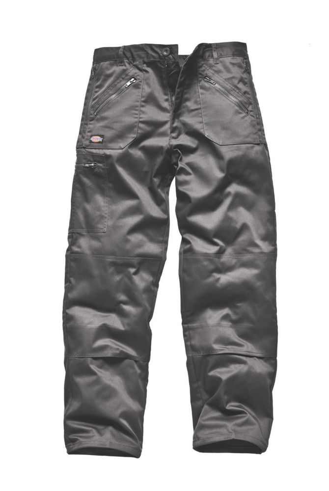 Dickies Redhawk Action Trousers Grey 32W 34L