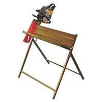 Handy Parts THSHWCS 25cm Log Capacity Log Saw Horse with Chainsaw Support