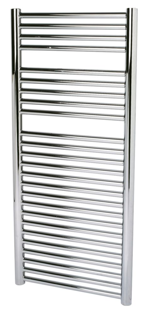 Kudox O Profile Towel Rail Chrome 500 x 1100mm 419W 1430Btu