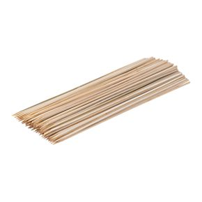 B&Q 100 Piece Bamboo Skewers