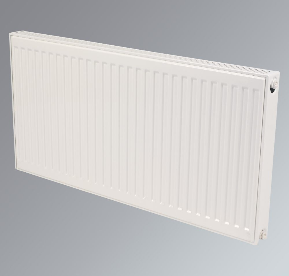 Kudox Premium Type 21 Compact Double Panel Radiator White 600 x 2400mm
