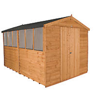 Forest 8' x 12' (Nominal) Apex Overlap Timber Shed