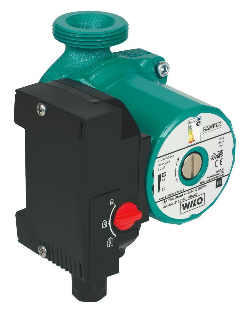 Wilo 4132507 Smart Central Heating Pump 'A' Rated