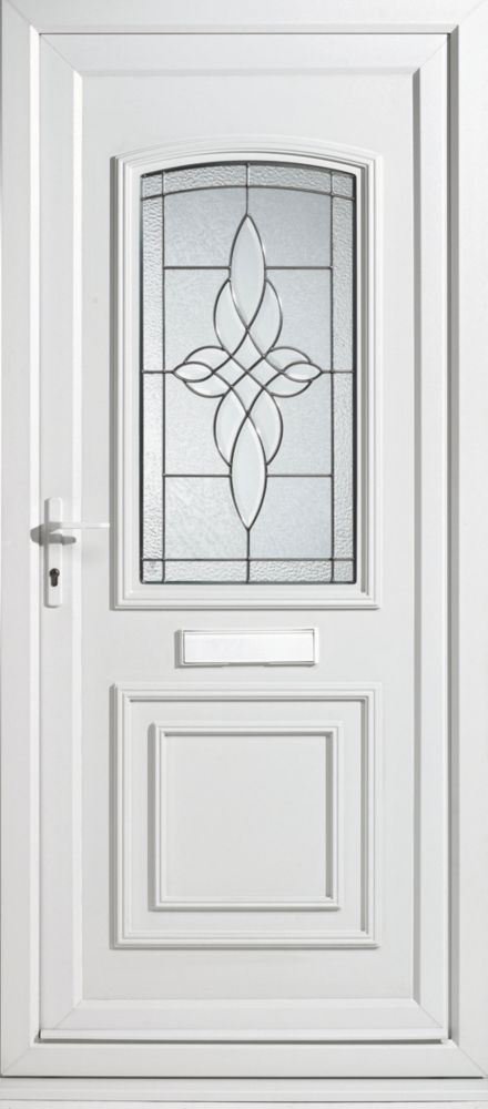 Sherbourne Single-Light uPVC Front Door RH 920 x 2085mm