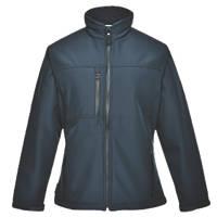 Portwest Charlotte Ladies Soft Shell Jacket Navy XX Large