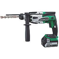 Hitachi DH18DSL/JJ 2kg 18V 5.0Ah Li-Ion Cordless SDS Plus Hammer Drill