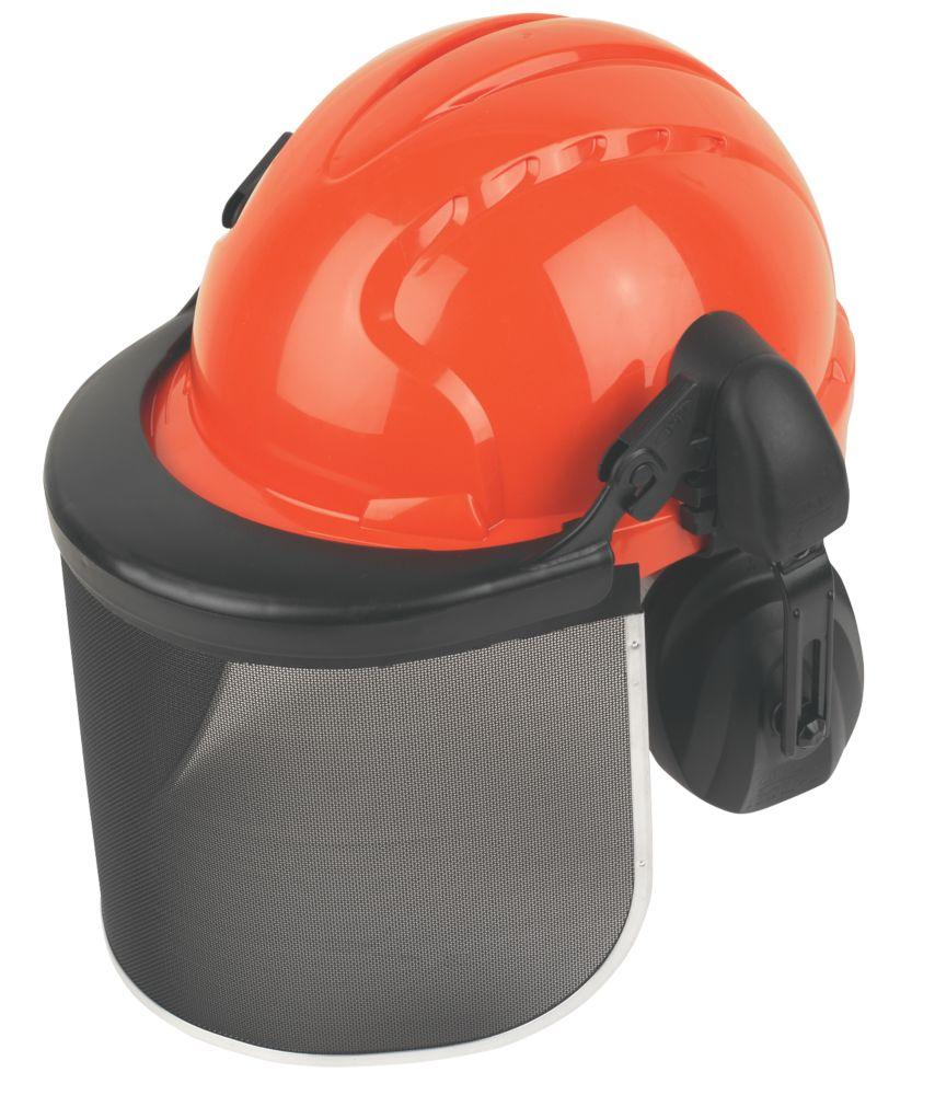 JSP EVO3 Forestry Helmet with Visor & Ear Defenders