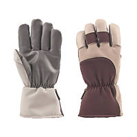 Portwest Siberia Cold Store Gloves Brown/Grey Large