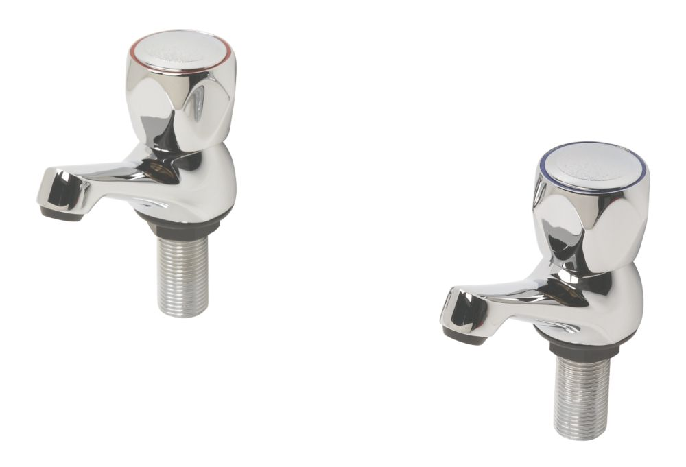 Swirl Contract Metal Head Bathroom Basin Taps