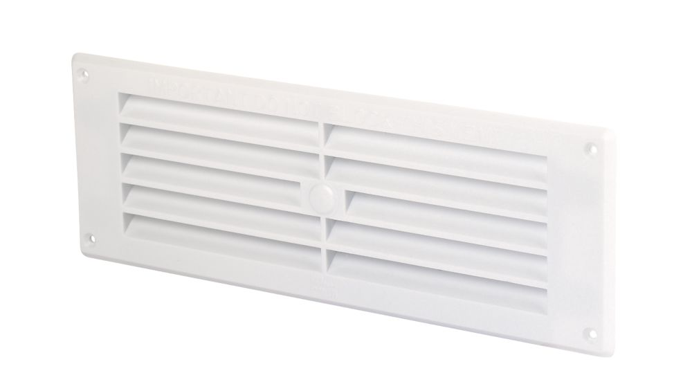 Map Vent Louvre Vent White 76mm x 229mm