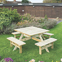 Rowlinson Square Picnic Table 1980 x 1980 x 750mm