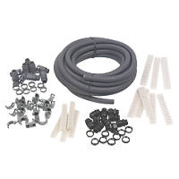 Adaptaflex Budget Installer Pack & Polypropylene Conduit 20mm Grey