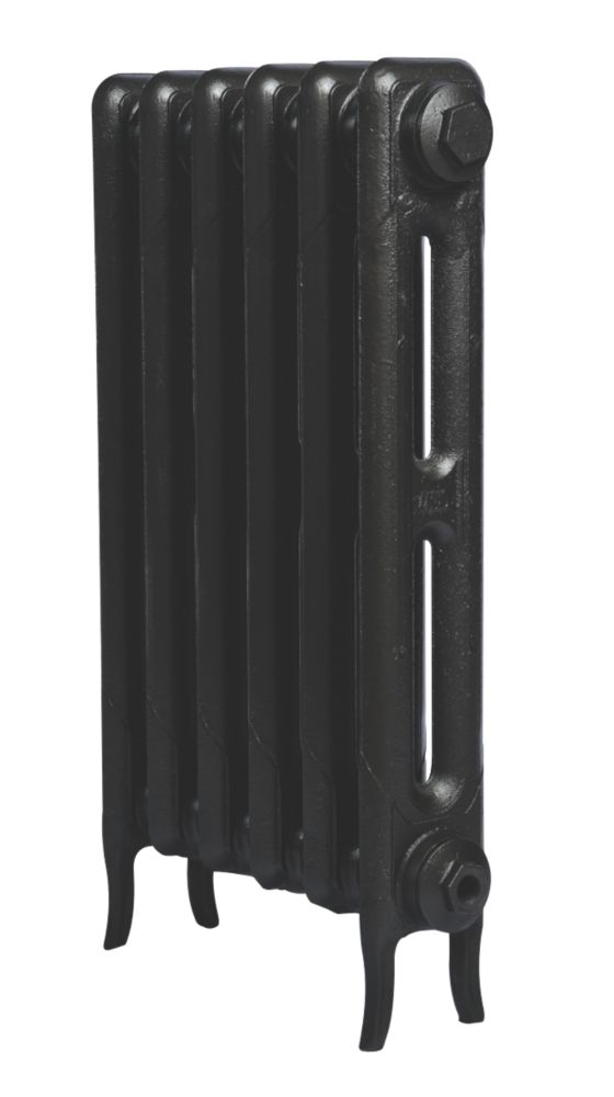 Cast Iron 660 Designer Radiator 2-Column Anthracite H: 660 x W: 397mm