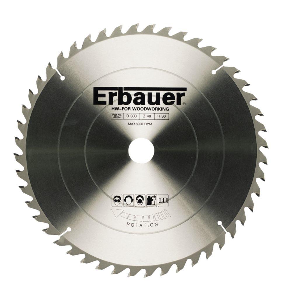 Erbauer Circular Saw Blade 48-Tooth 210mm