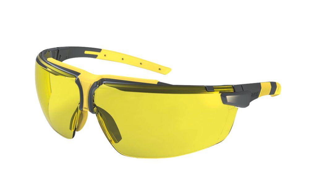 Uvex i-3 Amber Lens Safety Specs