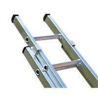 Lyte  SF2IN40 Double Extension Ladder 15 Treads Max. Height 7.2m