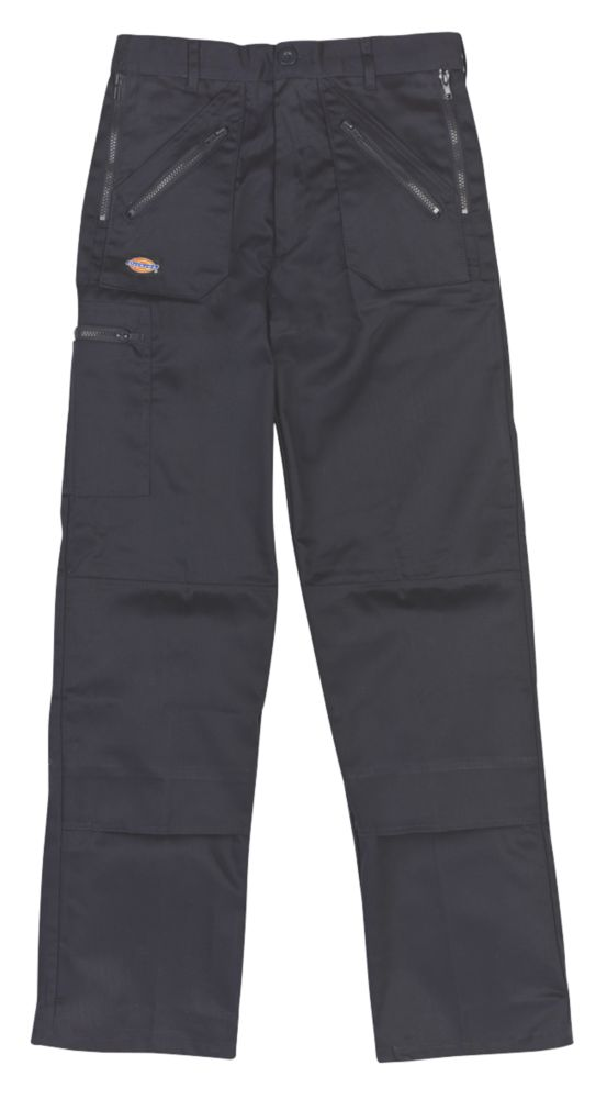 "Dickies Redhawk Action Trousers Navy 38"" W 32"" L"