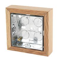 Varilight Single Wall Box Classic Oak