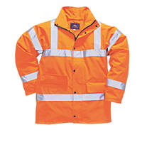 "Portwest  Hi-Vis Traffic Jacket Orange X Large 46-48"" Chest"
