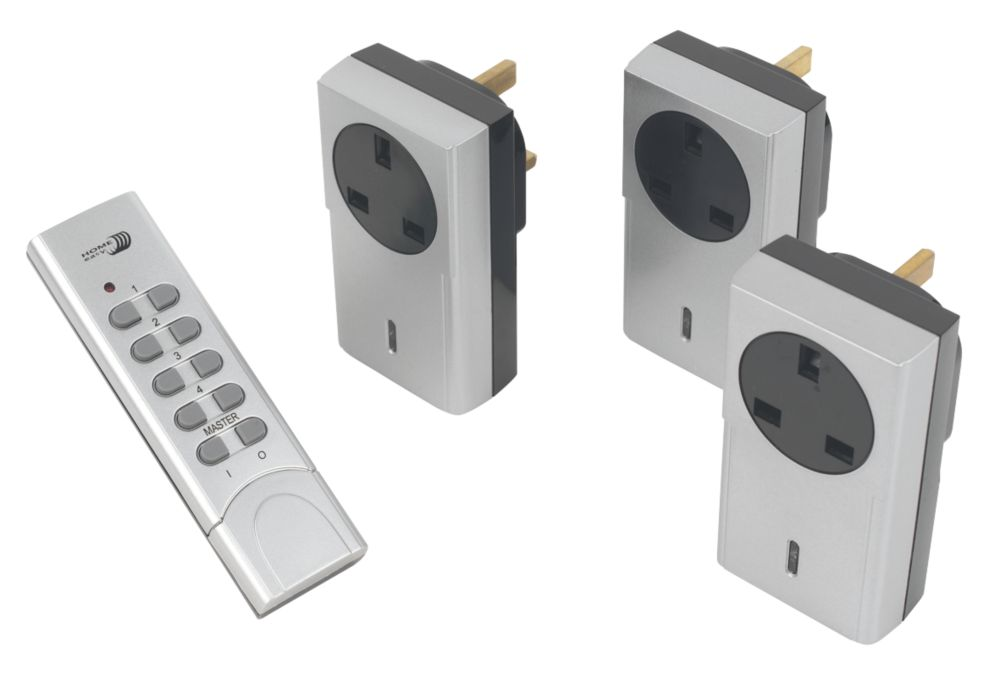 Home Easy Remote On/Off Socket Kit