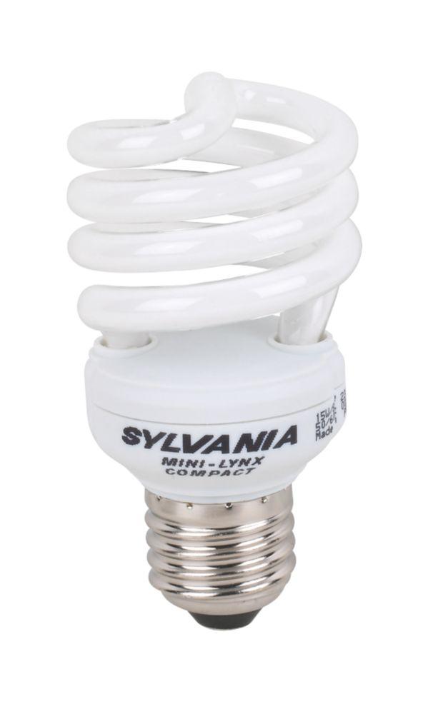 Sylvania Spiral CFL ES 15W