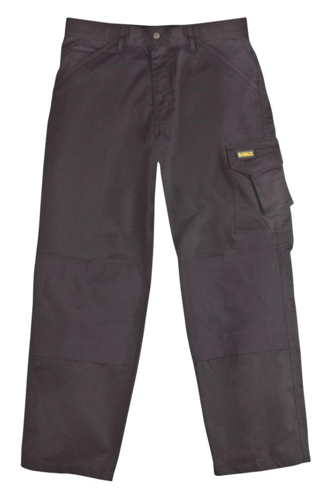 "DeWalt Cargo Trouser Black W 36"" L 32"""