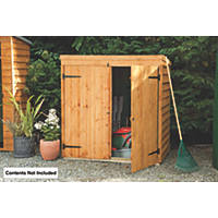 Forest 5' x 3' (Nominal) Pent Overlap Timber Shed