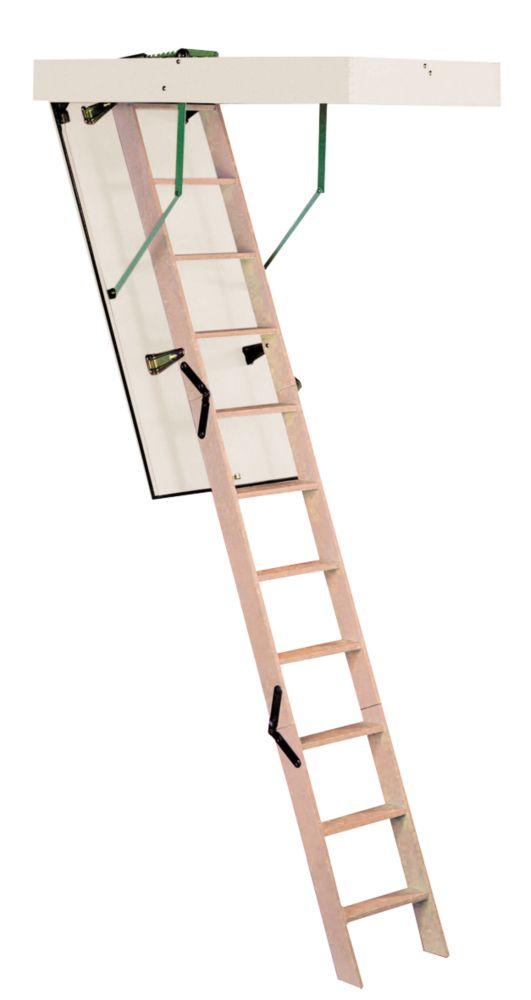 Timber Loft Ladder
