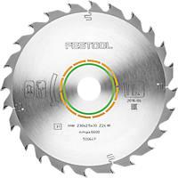 Festool All-Purpose TCT Circular Saw Blade 230 x 30mm 24T