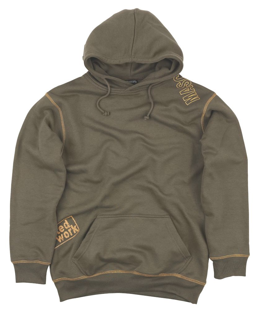 "Mascot Beja Hoodie Olive X Large 44"" Chest"
