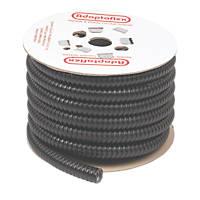 Adaptaflex Liquid Resistant Covered Steel Conduit 20mm x 10m Black