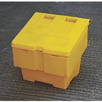 JSP Salt Grit Bin 50Ltr Yellow