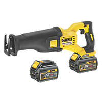 DeWalt DCS388T2-GB 54V 6.0Ah Li-Ion XR FlexVolt Brushless Reciprocating Saw