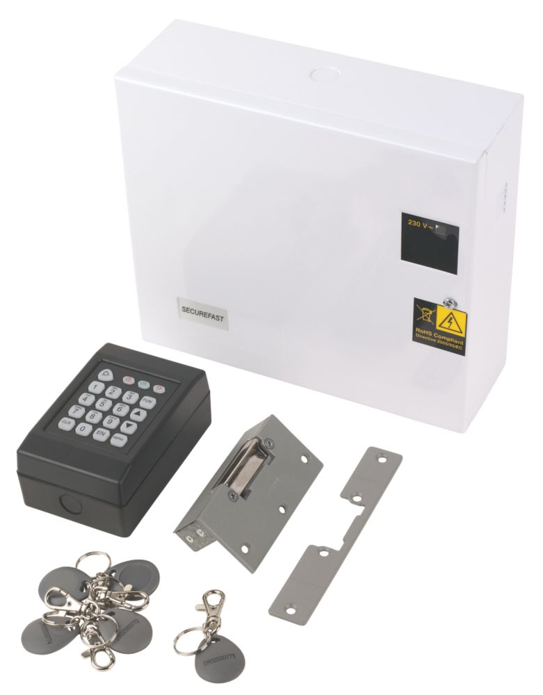 Securefast Easy-Fit Access Control Kit with Keypad Proximity