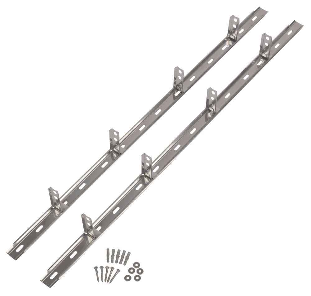 Sabrefix Wall Starter Kit Stainless Steel 50 x 1200mm
