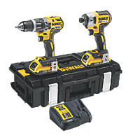 DeWalt DCK266D2-GB 18V 2.0Ah Li-Ion XR Combi Drill & Impact Driver Brushless Twin Pack