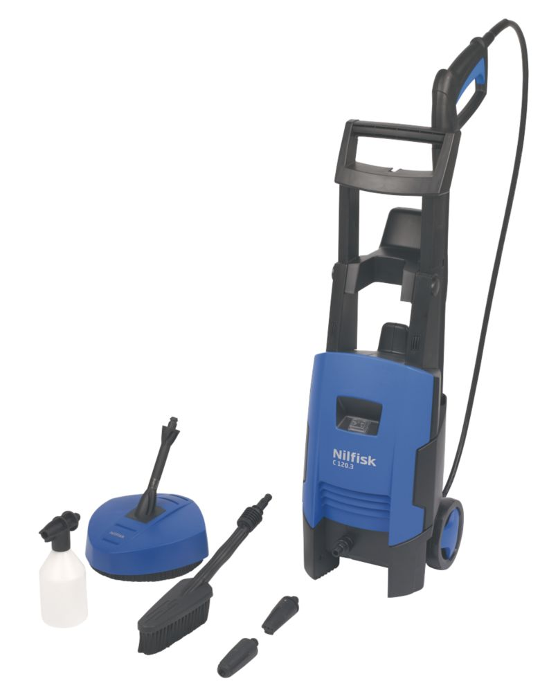 Nilfisk C120 3-6 120bar Pressure Washer with Trolley 230V