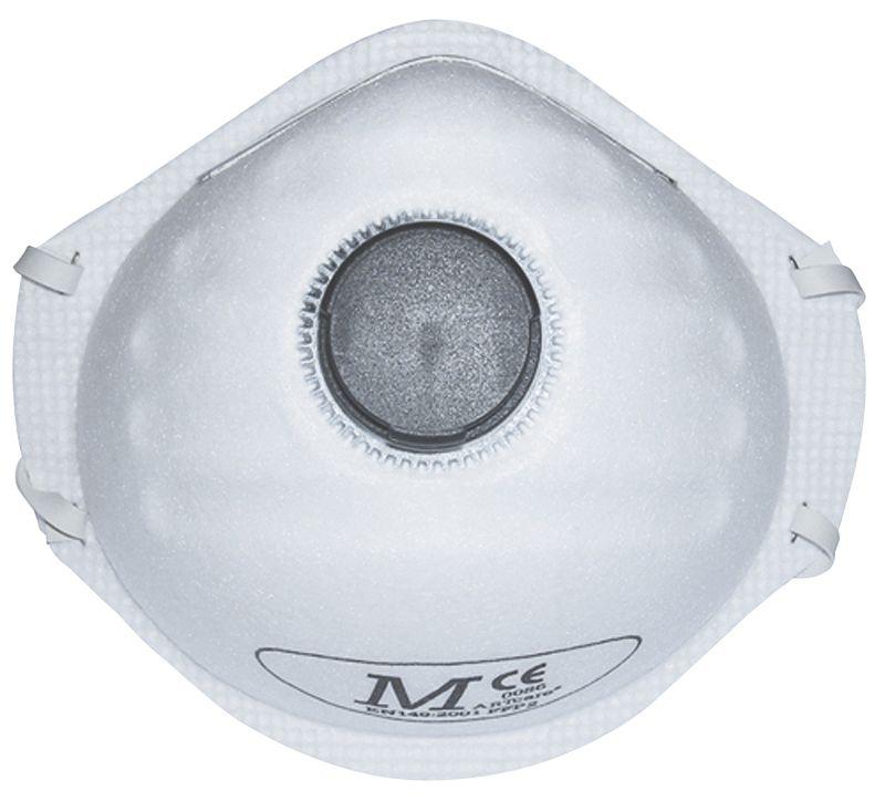 JSP Moulded Martcare Valved Mask FFP2 Pack of 10