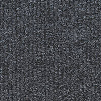 Distinctive Flooring  Ribbed Carpet Tiles Anthracite 16 Pcs