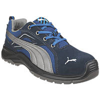 Puma Omni Sky Low Safety Trainers Blue Size 10
