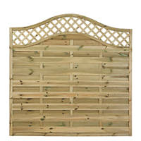 Forest Prague Fence Panels 1.8 x 1.8m 5 Pack