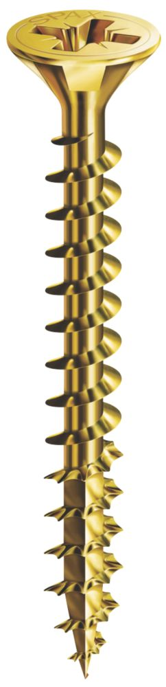 Spax Single Thread Woodscrews 5 x 90mm Pack of 100